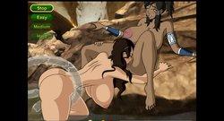 [Meet'n'fuck] Legend Of Korra - Shower Fun