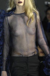 Mathilde Frachon Oops Topless Nude Nip Slip Sexy Hot Fashion Tits