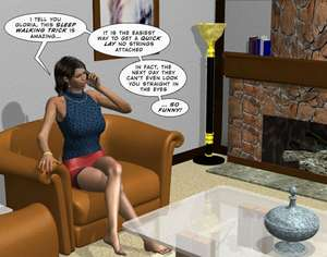 Interview with new Secretary Chapter 1 3D Adult Comics  COMICS