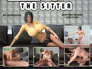 Morphious-The Sitter 3D Adult Comics  COMICS