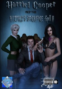 [Shinra-kun] Harriet Cooper And The Wizard's Sacrifice - Spell 2 3D Adult Comics  COMICS