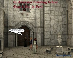 Scorpio69 - St Anastasia Finishing School 01 - Blue In Peril