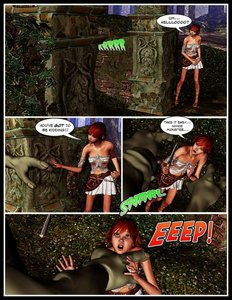 TKD - The Adventures Of Nikki Sprite 1-8