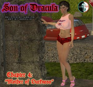 Donelio-Son of Dracula chapter 4 - Mother of darkness Comic