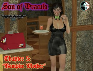 Donelio-Son of Dracula chapter 5 - Vampire mother Comic