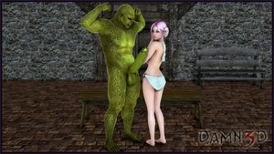Damn3d - Lacey And Orc