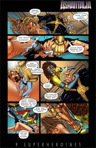 9Superheroines - Ashantalia - Master of arms