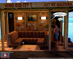 Kalevra-Who Did It 2 (new) 3D Adult Comics  COMICS