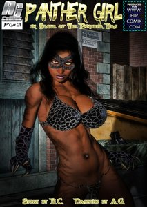 Mitru - Panther Girl in Slave of the Panther Bra Issue 03