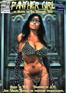 Mitru - Panther Girl in Slave of the Panther Bra Issue 04