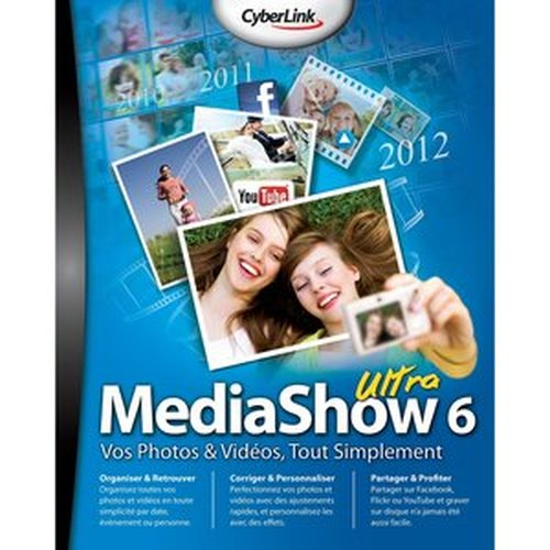 CyberLink MediaShow Ultra 6.0.7616 Multilingual Activated