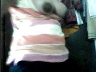 Nude gadis Indonesia mengekspos payudara pada cam