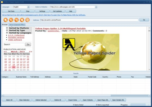 Yellow Pages Spider 3.36 Retail Multilingual incl Crack
