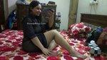 Beautiful Pakistani Lahore Wife Posing Fully Nude