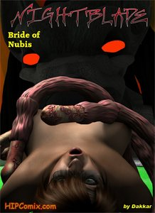 Dakkar - Nightblade 04 - Bride of Nubis 3D Adult Comics  COMICS