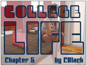 CBlack - College life Chapter 05 3D Adult Comics  COMICS