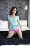 Sunny Leone Glamour Aqua See Through Nude