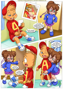 Alvinnn and the chipmunks nude something is