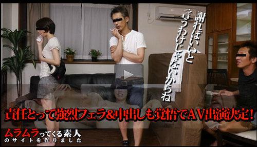 Muramura 102415_302  監督ごめんなさい!私が代役やります!うっかりADが仕事ミスで予定の女優現れず