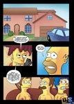 DrawnSex - Bob Revenge 1(The Simpsons)