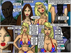 Illustratedinterracial - Flag Girls (update)
