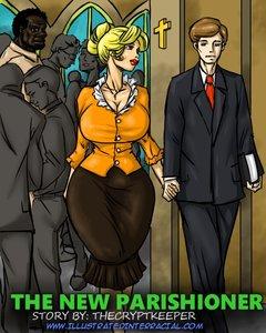 Illustratedinterracial - The New Parishioner (update) XXX comic.