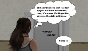 LoneRevenger - Lara Croft - A New Job 01