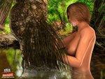 Aqua Monsters Fucking Cute Girls - Swamp Thing - Chapter 1