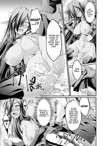 Ootsuki Wataru - Kuroinu ~Kedakaki Seijo wa Hakudaku ni Somaru~ THE COMIC Chapters 1-2