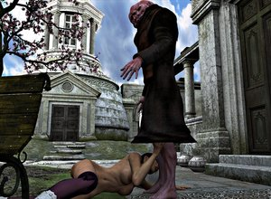 DarkSoul3D - The Monk