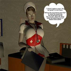 3dFiends - Laura Croft Nurse