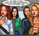 KAOS COMICS - GIRLS NIGHT OUT ALISA