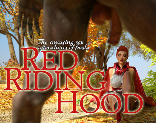 Taboo3DMovies - Red Riding Hood - Interracial, Group Download Comics