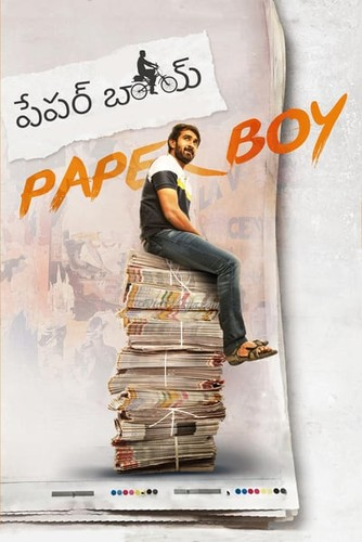 Paper Boy (2018) 720p UNCUT HDRip x264 ESubs [Dual Audio] [Hindi+Telugu]